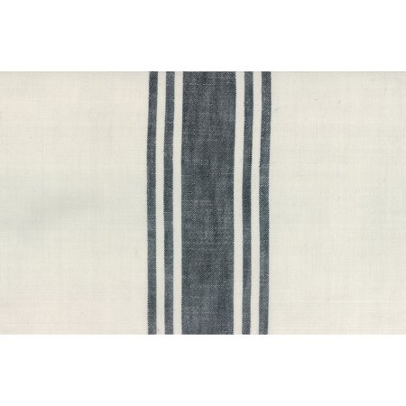 Moda Urban Cottage Ivory Black Stripe 16 Inch Cotton Toweling
