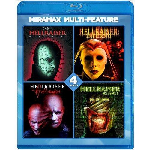 Hellraiser 4 Film Series: Bloodline / Inferno / Hellseeker / Hellworld (Blu-ray)