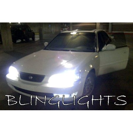 1995 1996 1997 1998 ACURA TL White Bulbs for Headlamps Headlights Head Lamps Lights