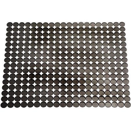 interdesign orbz kitchen sink protector mat large graphite walmartcom - Kitchen Sink Protector
