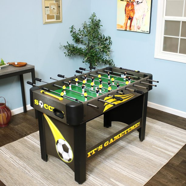 Sunnydaze 48 Inch Foosball Table, Sports Arcade Soccer for Pub