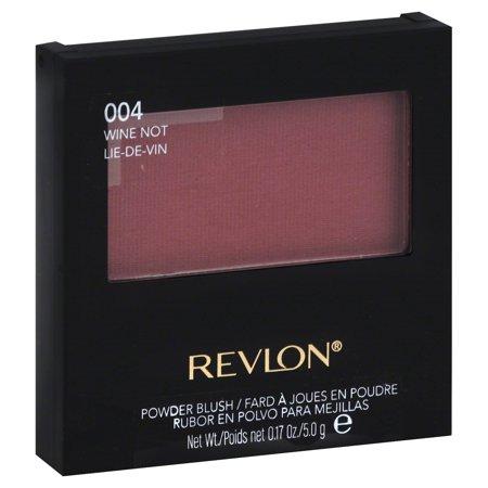 Revlon Powder Blush, 4 Wine Not, 0.17 Oz