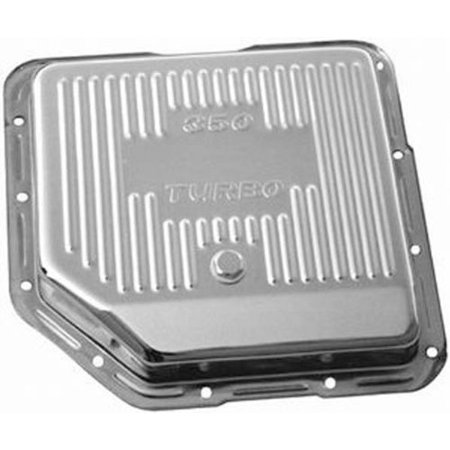 Chrome Transmission Cover (Racing Power Company R9122 Chrome Finned Transmission)