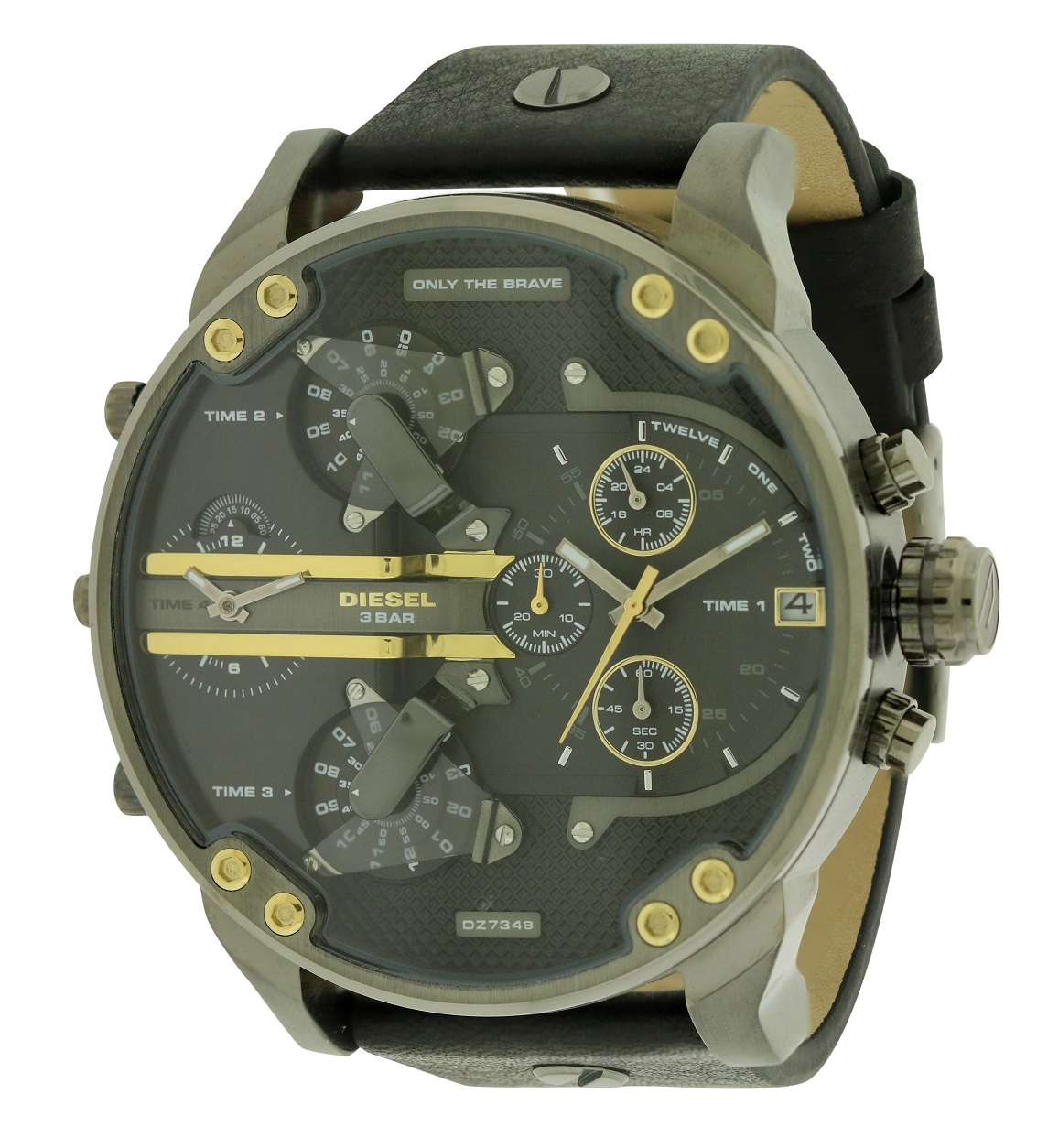 Diesel Mr Daddy 2.0 Leather Mens Watch DZ7348