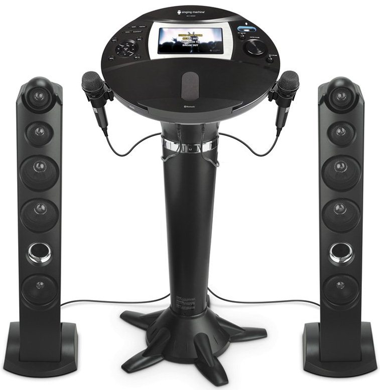 Singing Machine ISM1060BT All-Digital HD Pedestal Karaoke System (Refurbished)