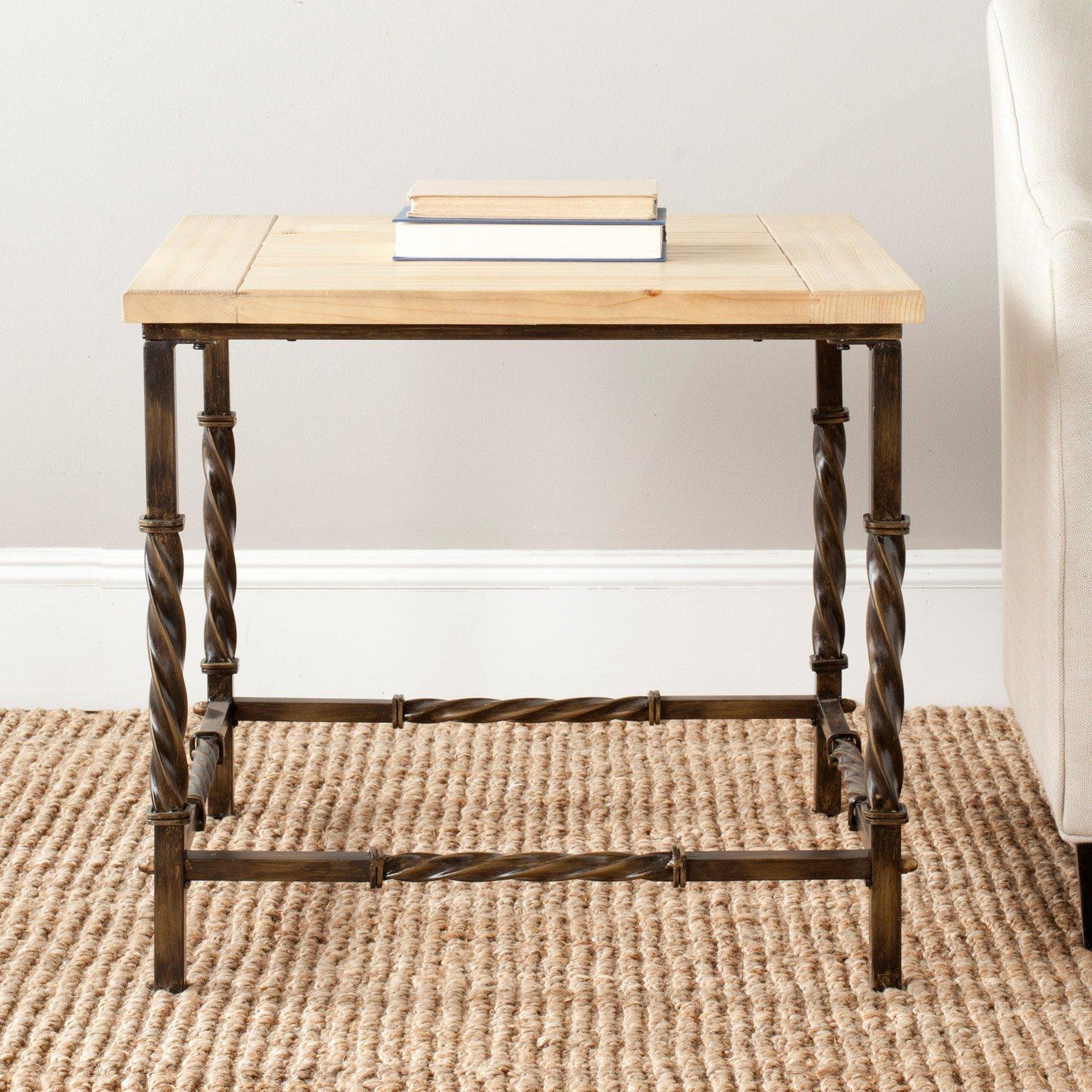 Safavieh Tonya Side Table - Natural