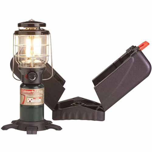 Coleman Propane 1 Mantle Lantern with Case