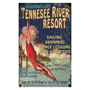 Tennessee River Wall Art - 15W x 26H in.