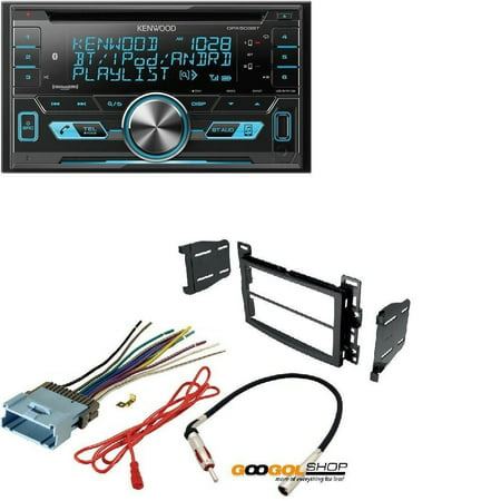 Kenwood Double DIN CD Bluetooth SiriusXM Car Stereo (Replaced DPX502BT) on