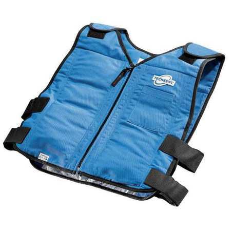 TECHNICHE 6626-N Cooling Vest, L/XL, Royal Blue