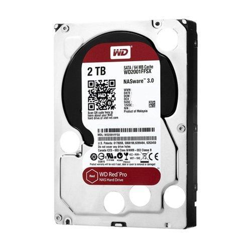 """Wd Red Pro Wd2001ffsx 2 Tb 3.5"""" Internal Hard Drive - Sata - 7200 Rpm - 64 Mb Buffer (wd2001ffsx)"""