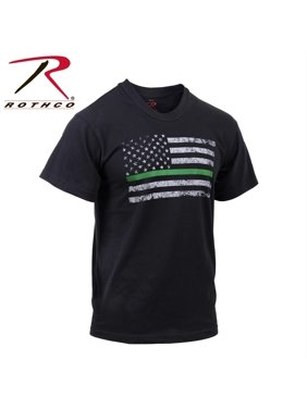 Product Image rothco thin green line distressed flag t-shirt 0cdb6ccc1e5