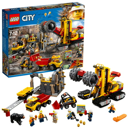 LEGO City Mining Experts Site 60188 Building Set (883 Pieces)