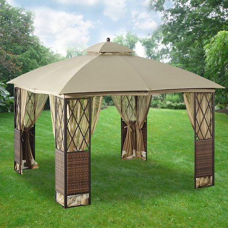 Garden Winds Replacement Canopy Top for 10x10 Wicker Gazebo - Riplock 350