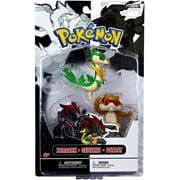 Pokemon Series 3 Basic Servine, Patrat & Zoroark Figure 3-Pack