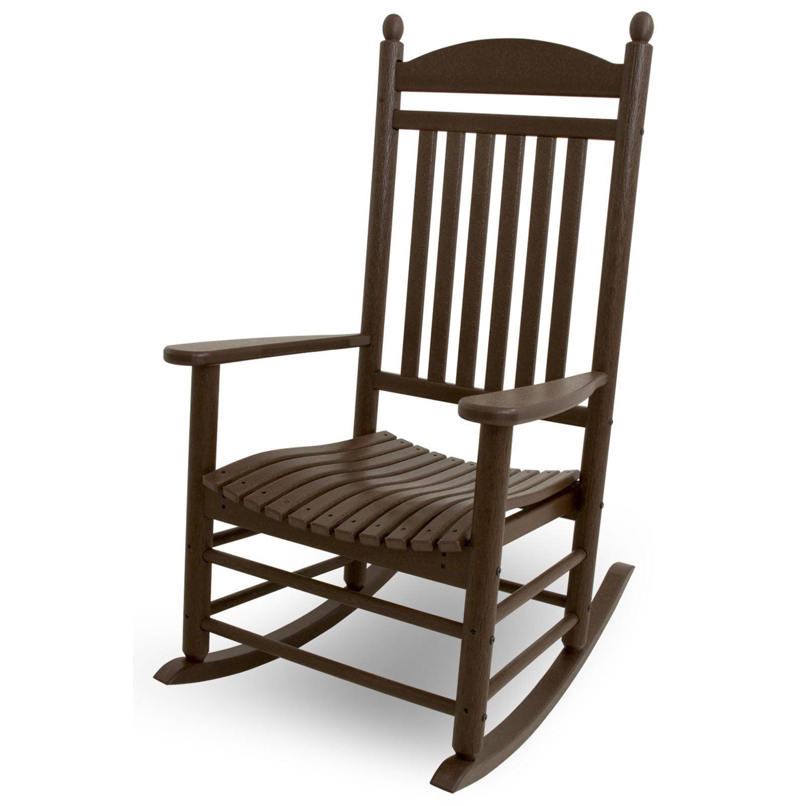 POLYWOOD Jefferson Recycled Plastic Rocking Chair Walmart