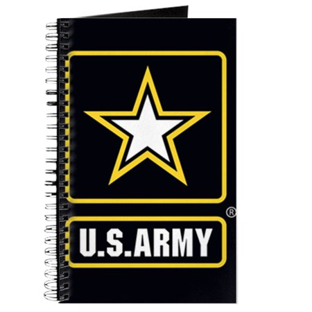CafePress - US ARMY Gold Star Logo Black - Spiral Bound Journal Notebook, Personal Diary (Persol Logo)
