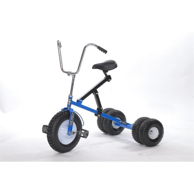 Dirt King DK-252B-TB Big Kid Dually Tricycle, Blue