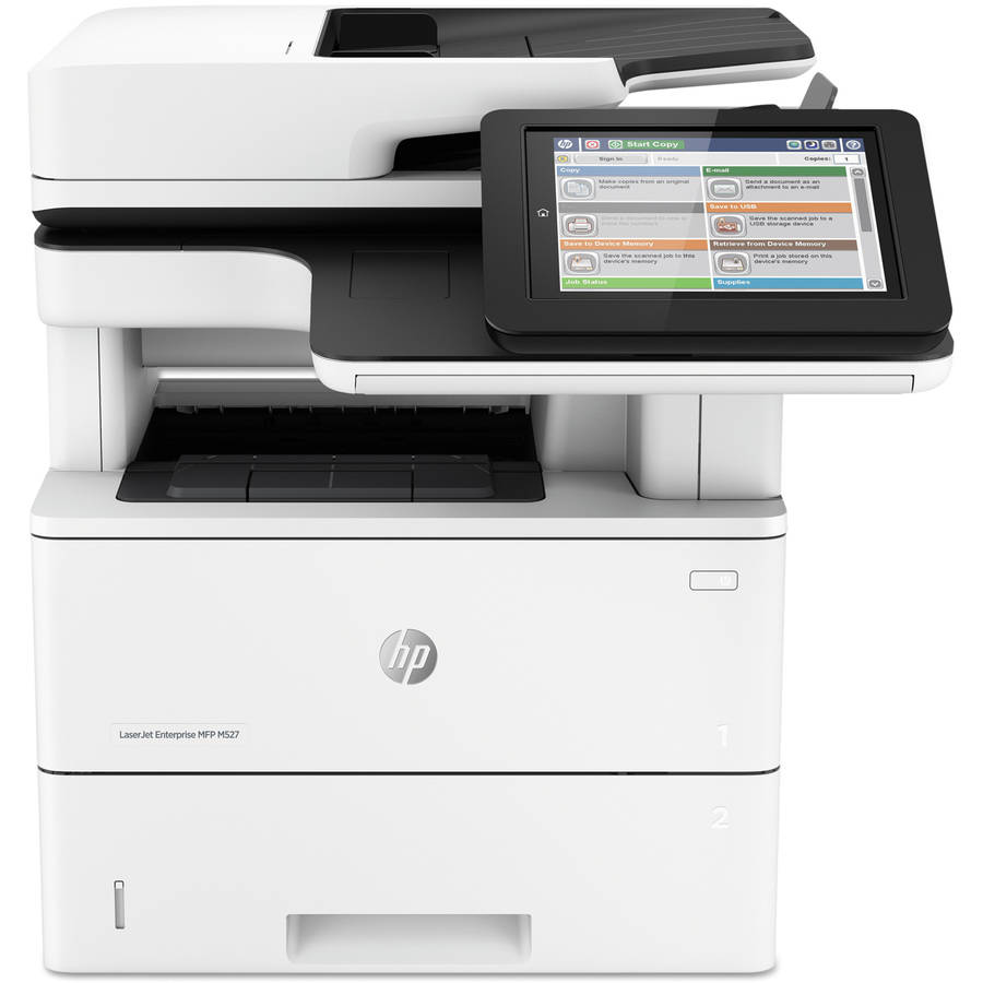 HP LaserJet Enterprise M527dn Multifunction Laser Printer/Copier/Scanner