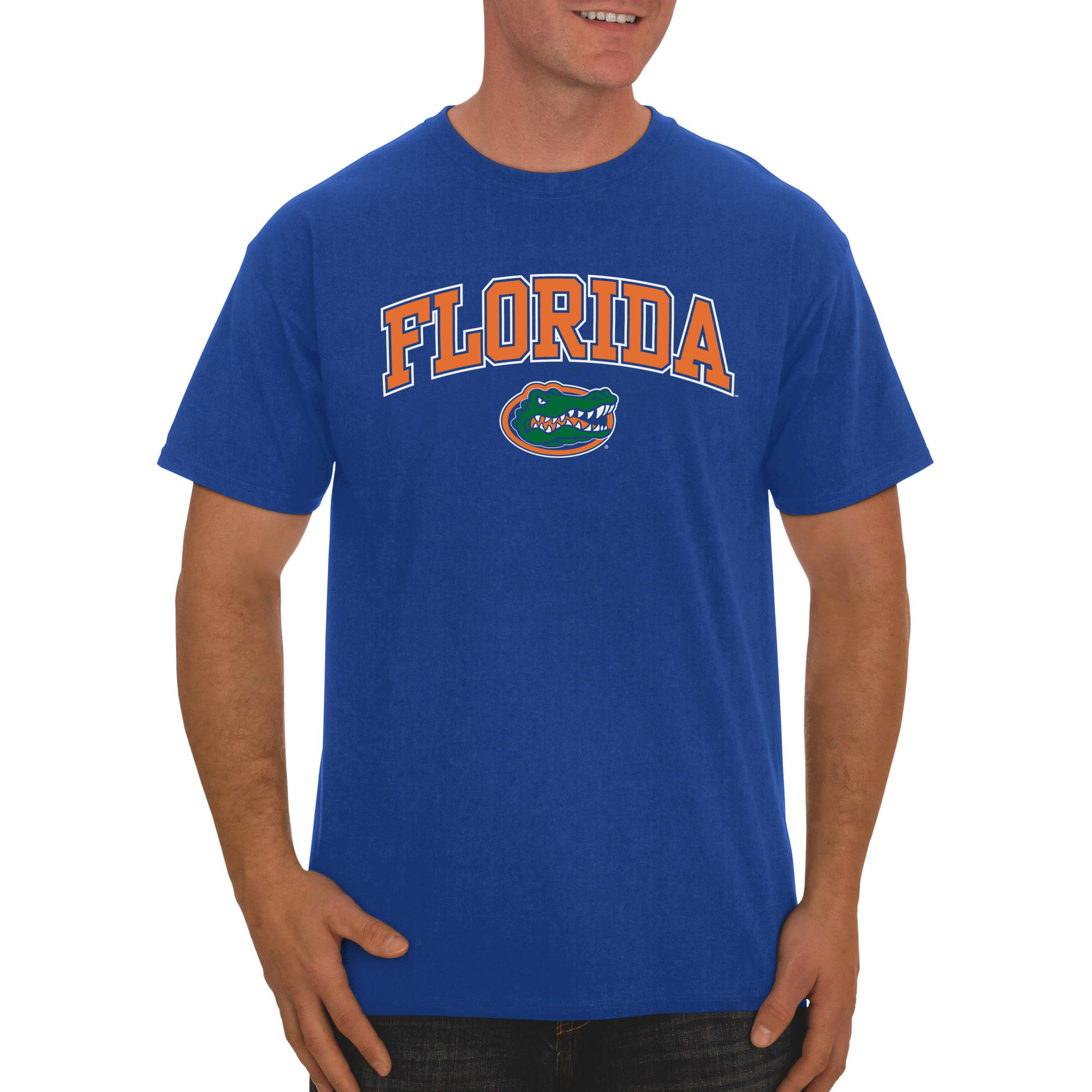 Russell NCAA  Florida Gators, Big Men's Classic Cotton T-Shirt