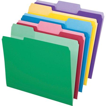 Pendaflex, PFX84370, Erasable Tab File Folders, 30 / Pack, Assorted (3 Tab File Folders)