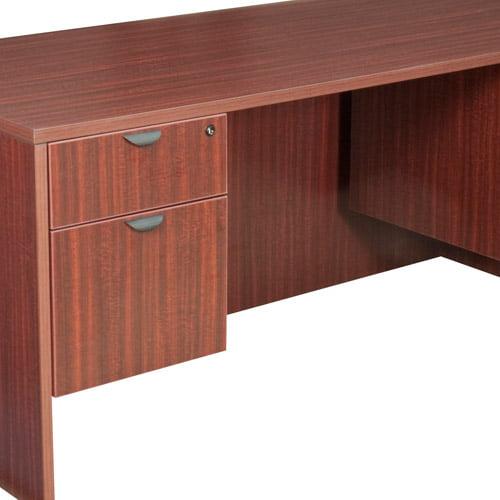 """Regency 66"""" Desk with Pedestals"""
