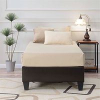 Picket House Abby Twin Platform Bed in Brown
