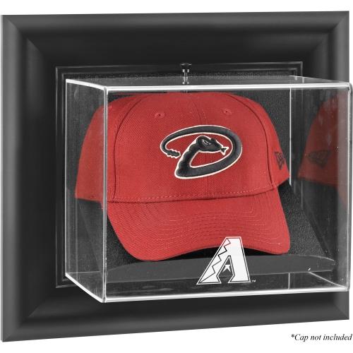 Arizona Diamondbacks Fanatics Authentic Black Framed Wall-Mounted Logo Cap Display Case - No Size