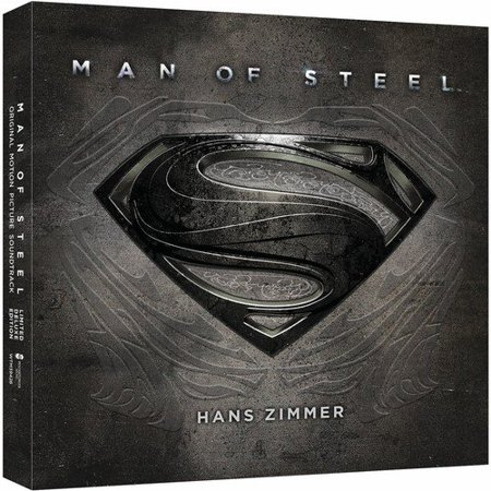 Man Of Steel (2CD) (Deluxe Edition) Soundtrack (The Best Man 2019 Soundtrack)