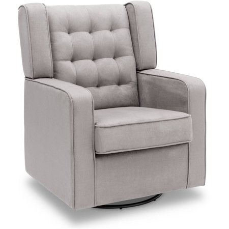 Delta Children Paris Upholstered Glider, Dove