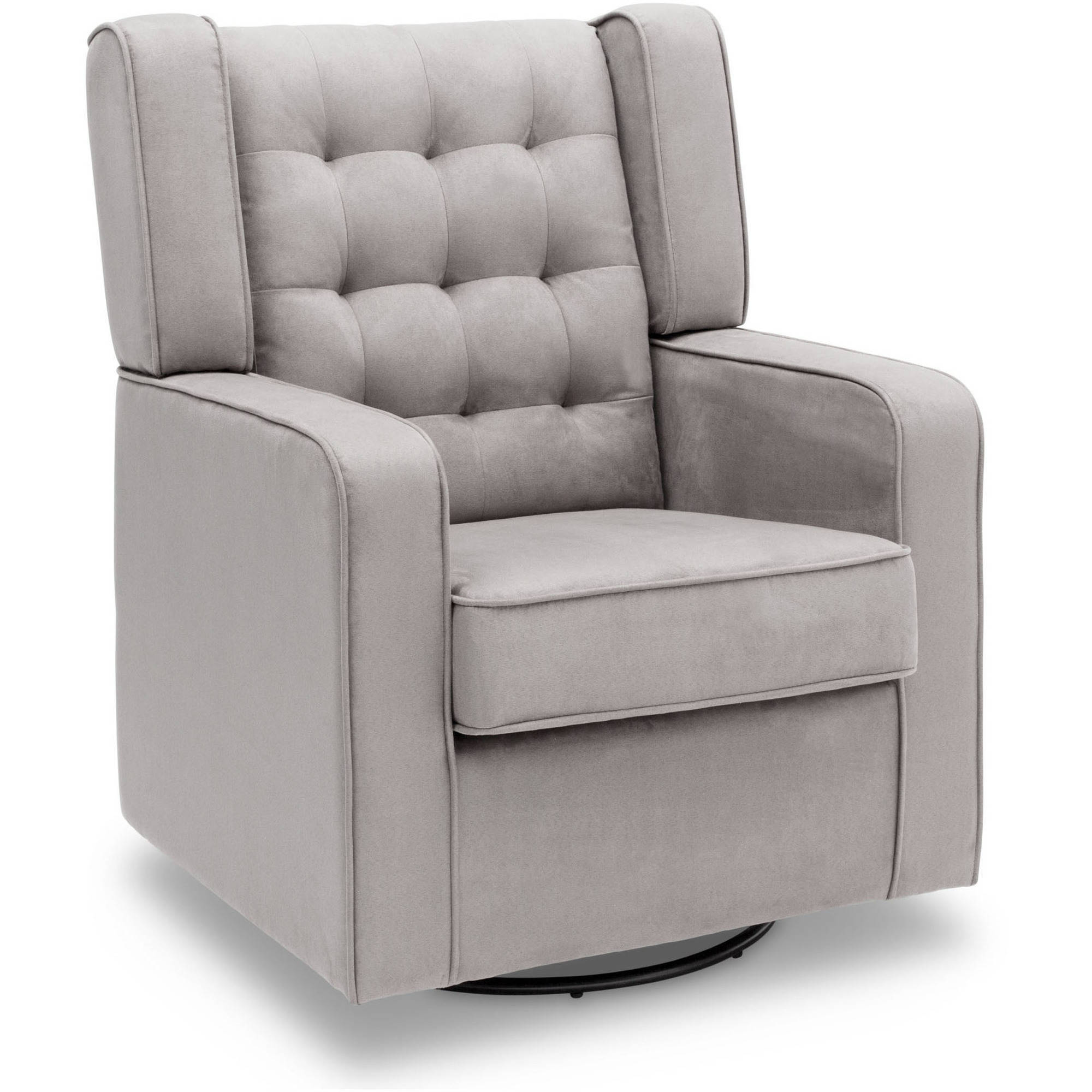 Delta Children Paris Upholstered Glider, Dove Gray