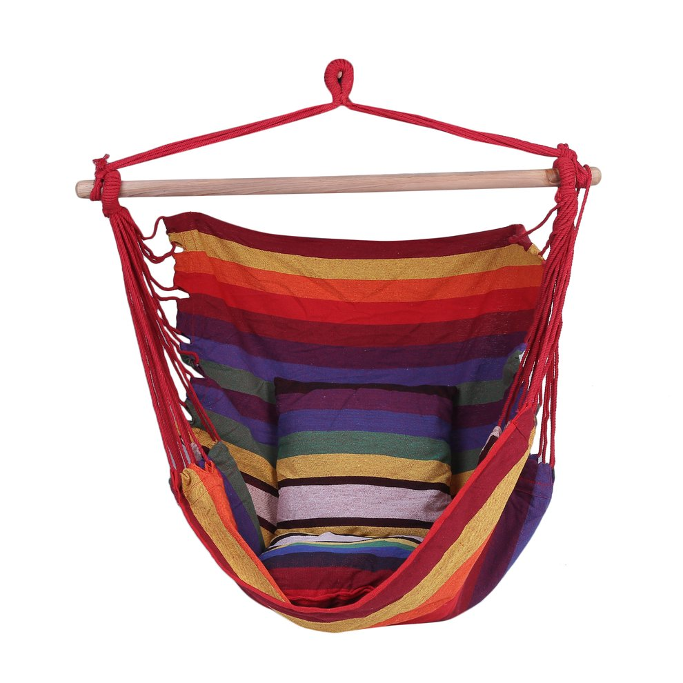 Portable Folded Outdoor Indoor Sleeping Rope Chair Swing Bed ...