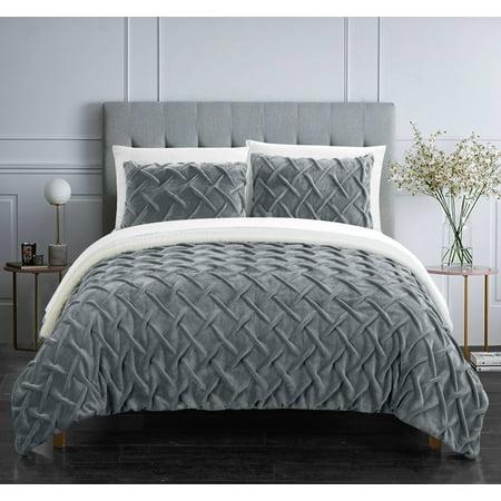 Chic Home Noam 3 Piece Comforter Set Bedding ()