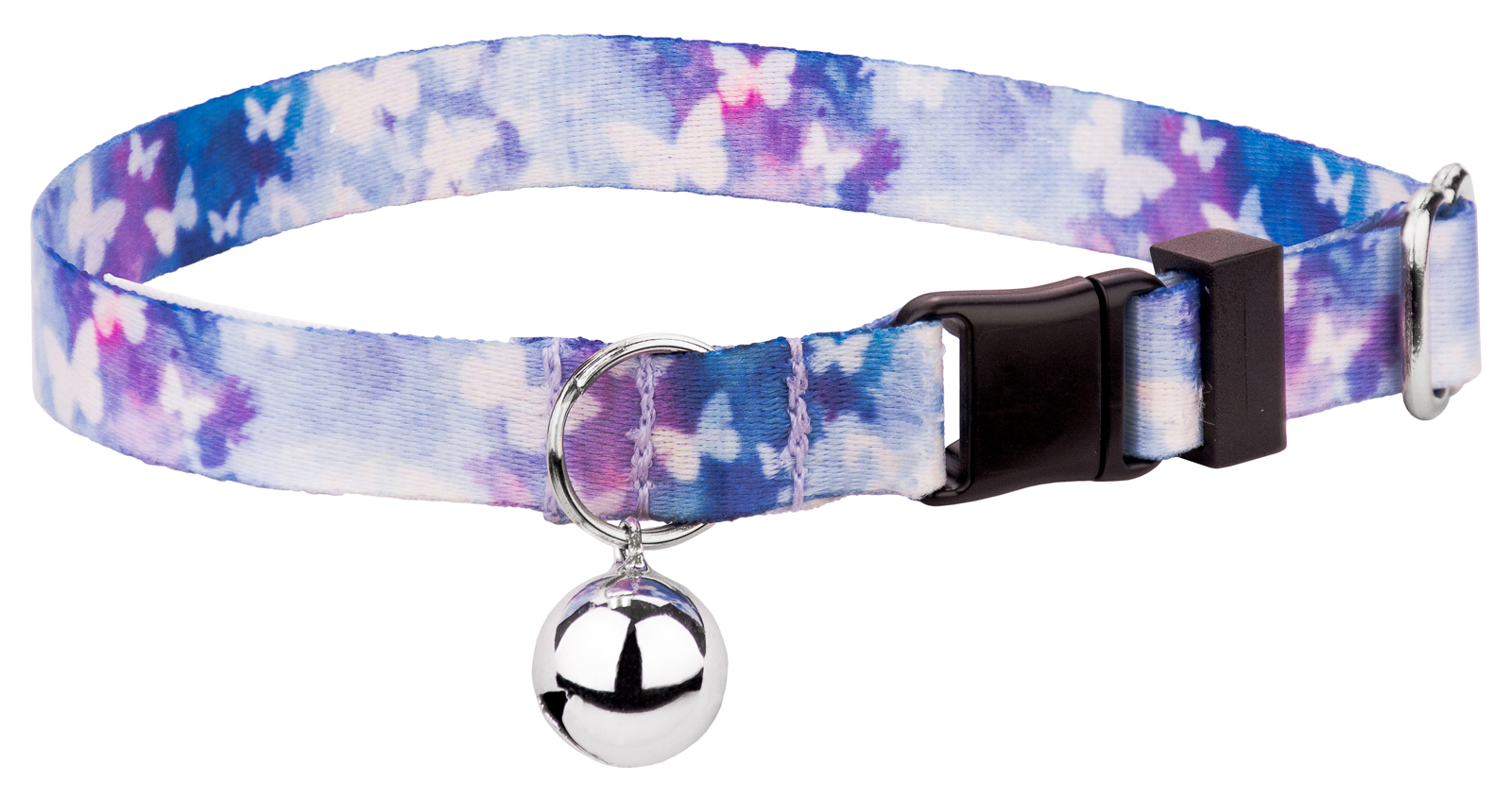 Country Brook Petz | Watercolor Butterflies Cat Collar by Country Brook Petz