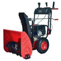 PowerSmat PSS2240-W 24 in. 212cc 2-Stage Electric Start Gas Snow Blower