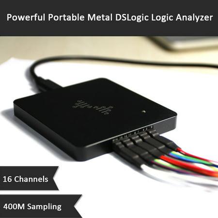 Powerful Portable Metal DSLogic Logic Analyzer 16 Channels 400MHz Sampling USB-based Debugging Logic Analyzer - image 1 of 5