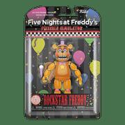 Funko Action Figure: FNAF Pizza Sim- Rockstar Freddy (Translucent Glow)