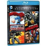 DC Universe Original Movie Double Feature: Superman, Batman: Public Enemies   Superman, Batman: Apocalypse (Blu-ray) by