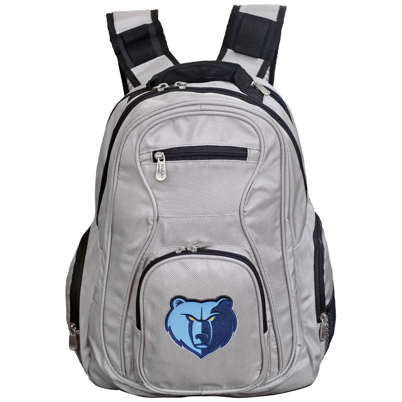 NBA Memphis Grizzlies Gray Premium Laptop Backpack