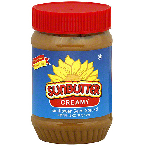 Sunbutter Creamy Sunflower Seed Spread, 16 oz (Pack of 6)