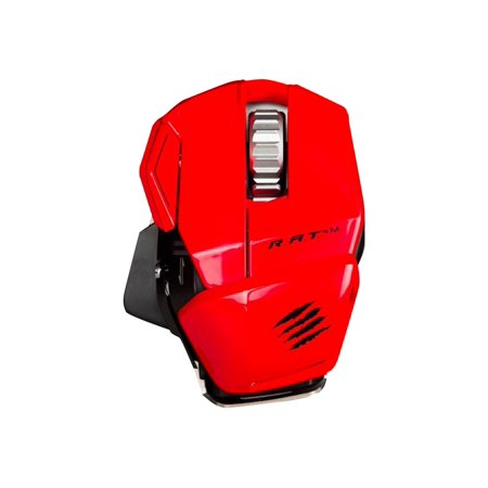 Mad Catz R.A.T.M Wireless Mobile Mouse, Red