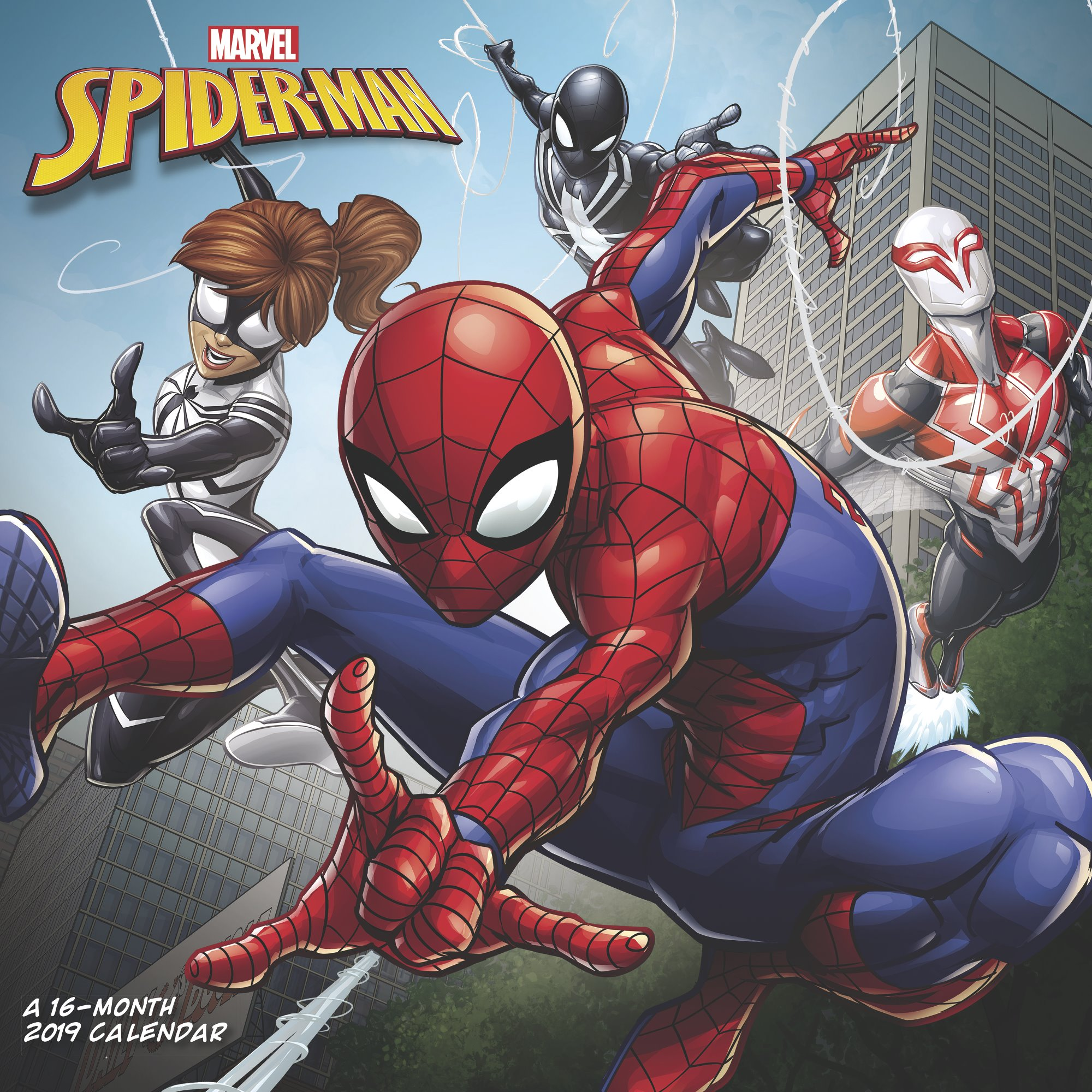 Mead MARVEL Spider-Man Wall Calendar - Yearly Wall Calendars