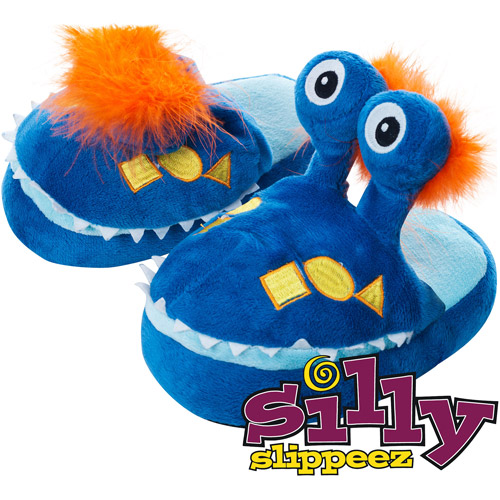Silly Slippeez - Mr. Monster - Glow in the Dark Slipper