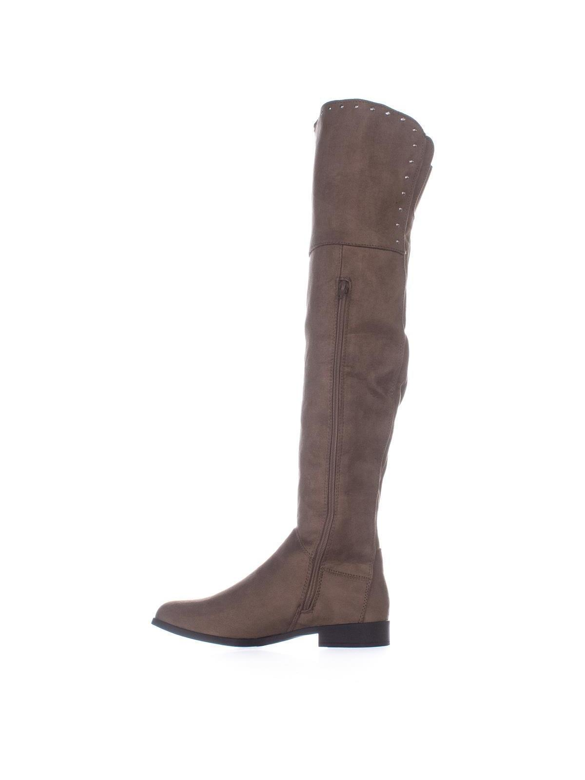 XOXO Travis Over The Knee Boots, Taupe