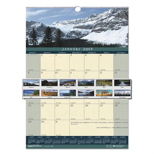 House of Doolittle Landscapes Wall Calendar