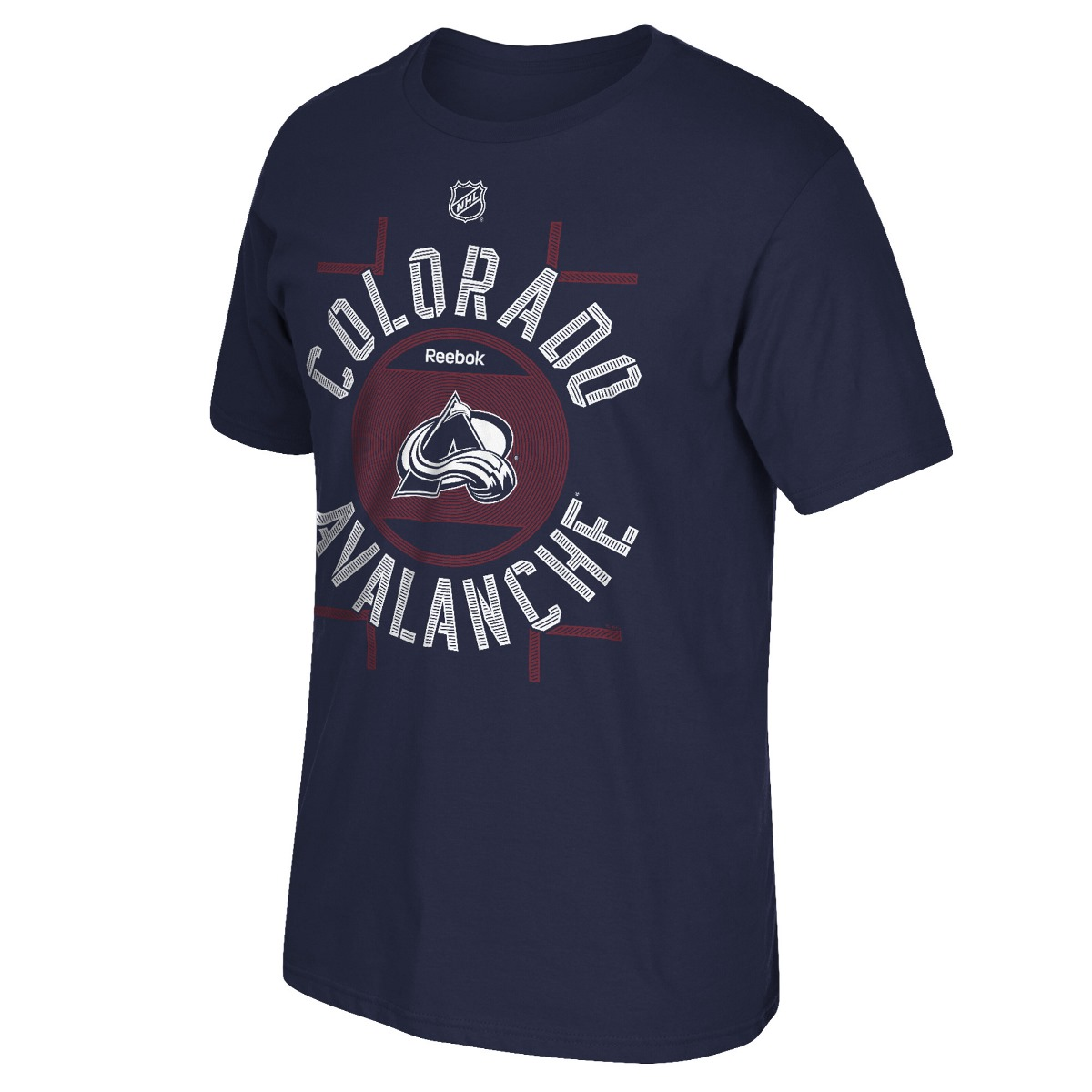 "Colorado Avalanche Reebok NHL ""Skate the Circles"" Men's T-Shirt"