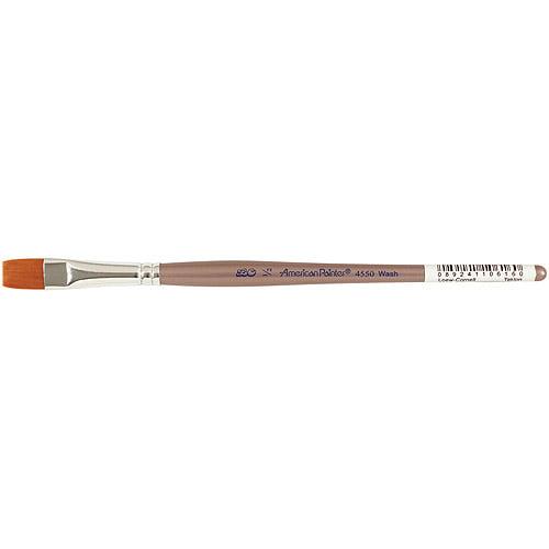Loew-Cornell ® American Painter Brush, Flat 1/2 Inch