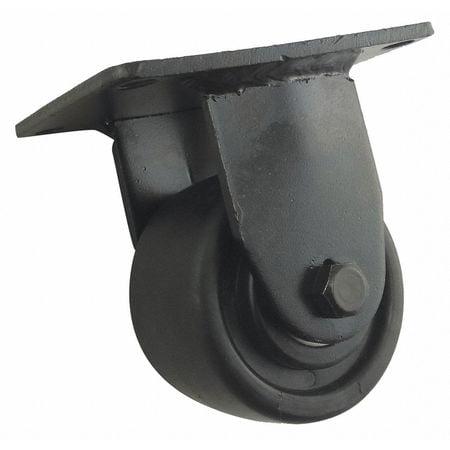 Rigid Plate Cstr,Polypropylene,3in,500lb ZORO SELECT 20PB03201R