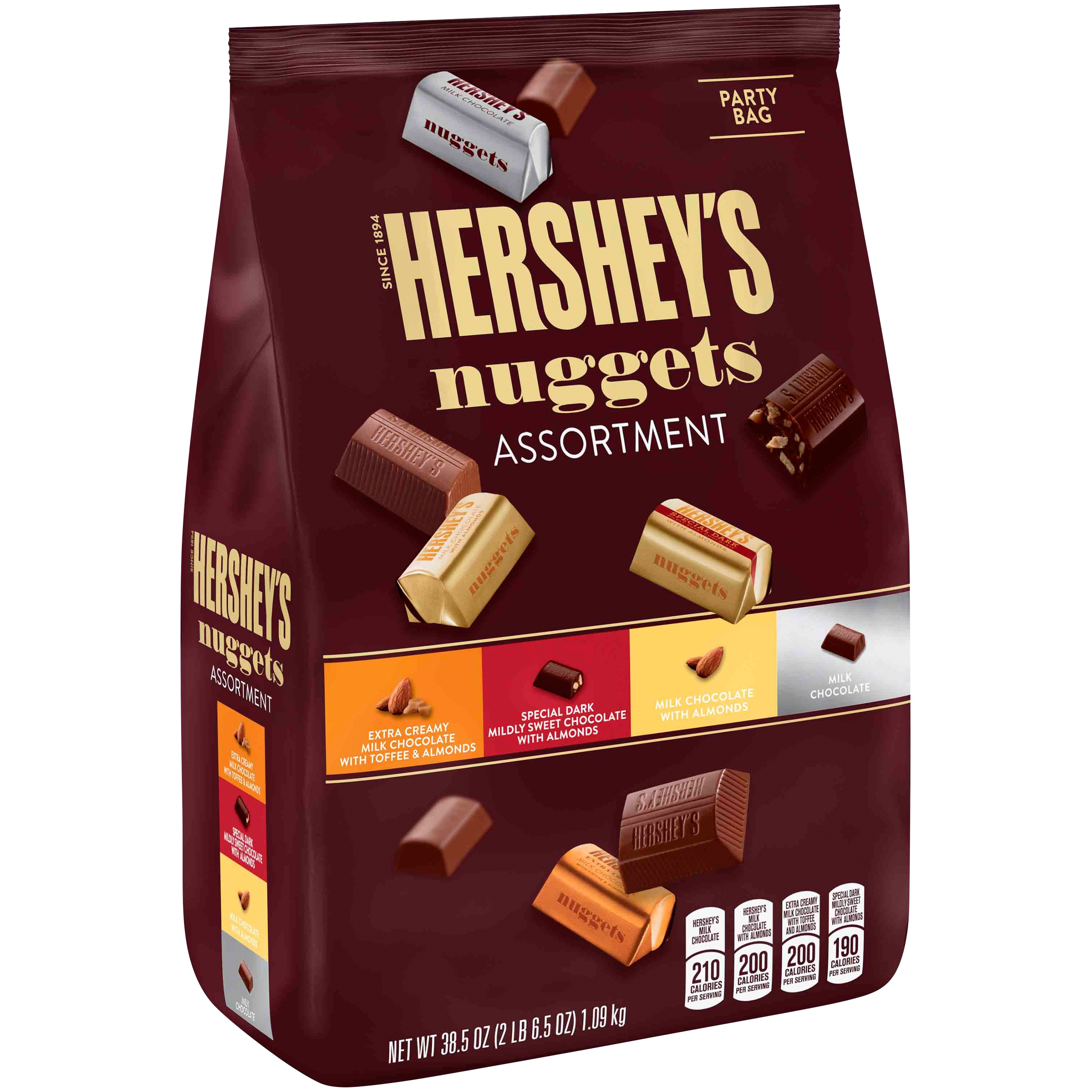 Hershey's, Nuggets Chocolates Assortment, 38.5 Oz