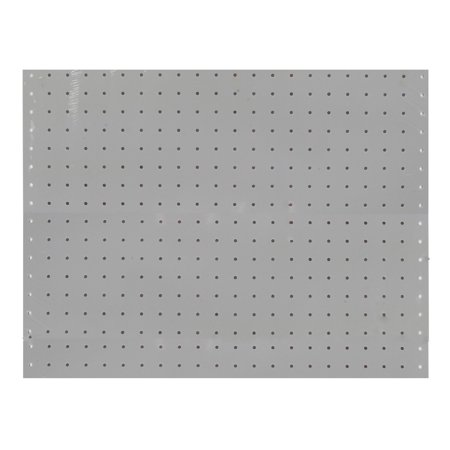 (2) 22 In. W x 18 In. H x 1/8 In. D White Polypropylene Pegboards with 3/16 In. Hole Size ()
